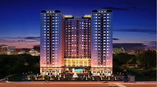 Căn Hộ Dream Home Palace tọa lạc trên đường Phạm Thế Hiển - Trịnh Quang Nghị, quận 8, TP HCM.